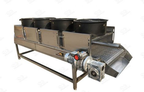 air cooling machine for french fries