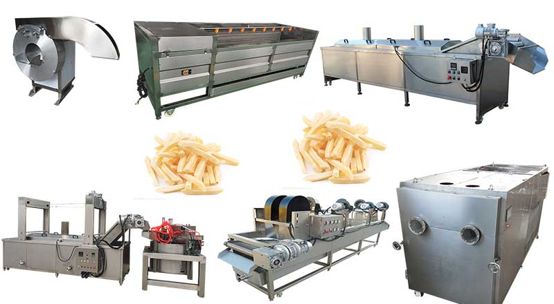 frozen french fries processing plant for sale