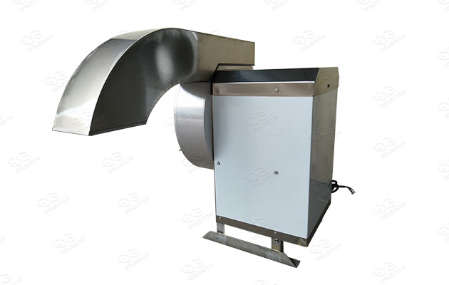 cutting machine for potatoes and other vegetables