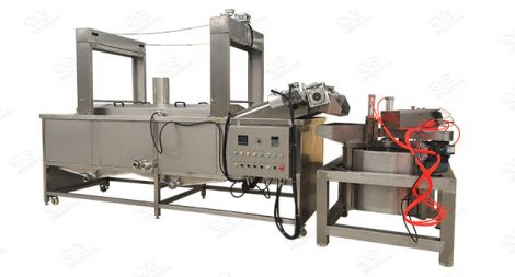 potato chips and french fries fryer manufacturer