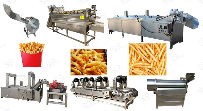 finger chips making machine