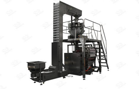 packing machine for vegetables and fruits process lines