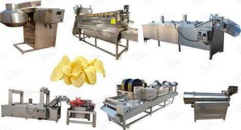 potato chips automatic machine