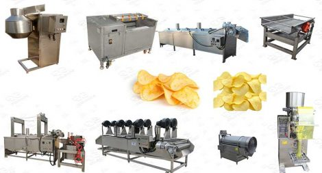 potato chips manufacturing plant