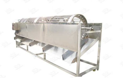 stainless steel grading machine for vegetables