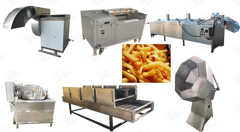 Small Scale French Fries Production Line