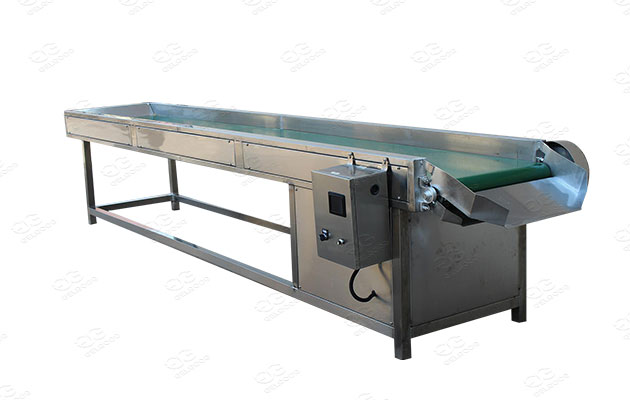 sorting machine for vegetable and fruit processing