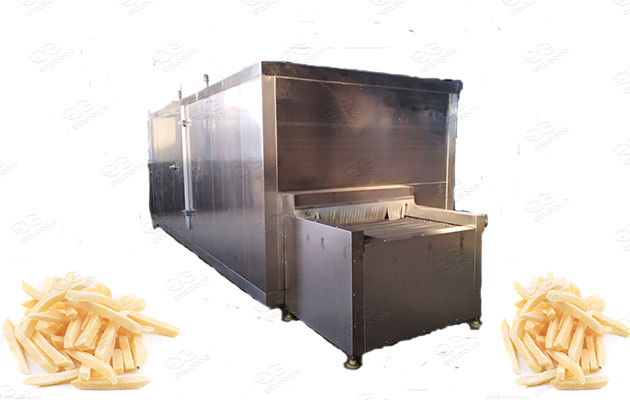 quick freezer machine for vegetables and fruits