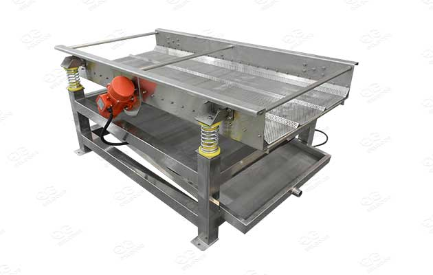 vibrator dewatering machine for potato chips and french fries