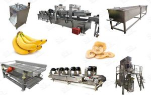 Automatic Banana Chips Line