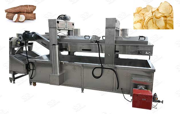 automatic continuous frying machine for sale