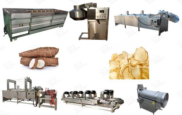 cassava chips production line