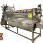 Cassava Washer and Peeler Machine