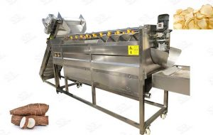 Cassava Washer and Peeler Machine
