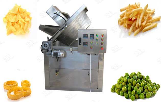 industrial batch type frying machine manufacturer