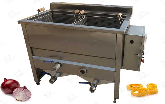 onion ring chips frying machine manufacturer