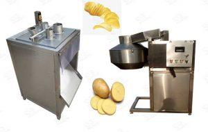 Potato Chips Cutter Machine