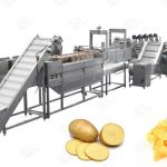 Potato Chips Production Line in Pakistan