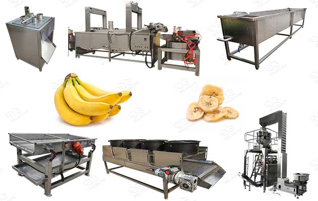 banana chips processing plant