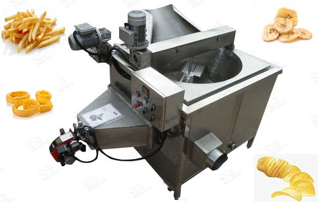 batch type frying machine commercial