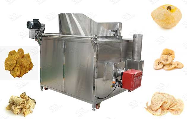 semi-automatic frying equipment