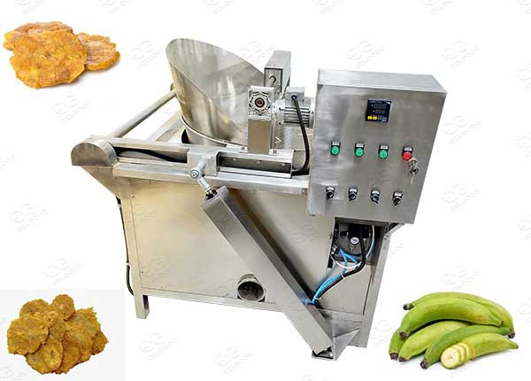 fried plantain chips fryer manufacturer