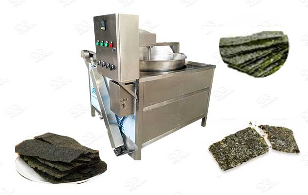 deep fried seaweed chips fryer machine