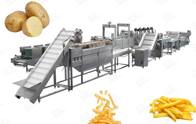 finger chips production line