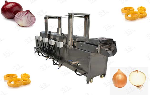 automatic onion rings fryer manufacturer