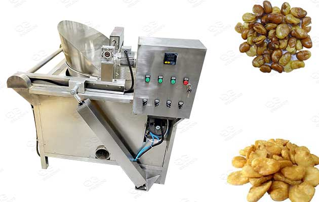 broad beans frying line machines