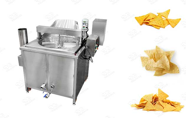 batch type tortilla chips deep fryer