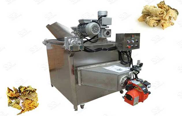 frying machine for fish skin chips