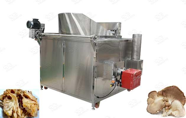 commercial sliced mushroom fryer machine