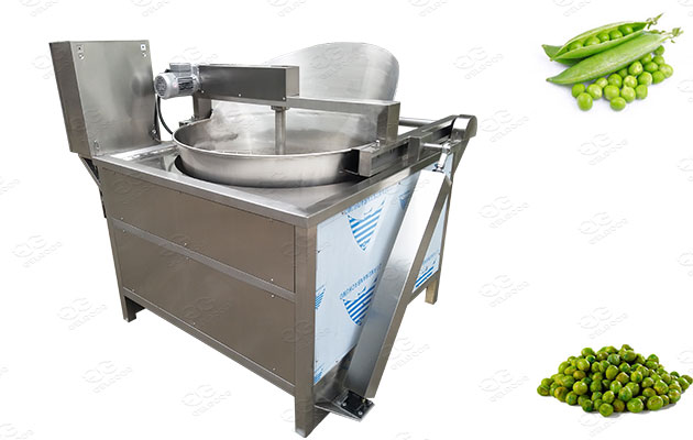 green peas fryer machine manufacturer