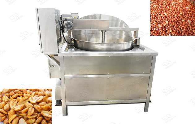 batch type deep fryer for peanut frying machines