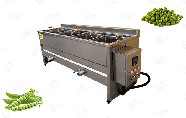 green peas fryer machine