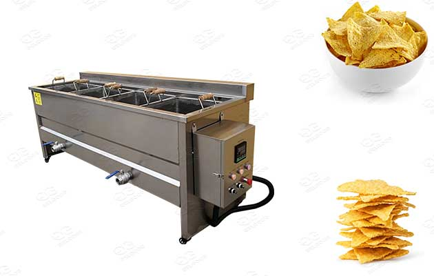 commercial torilla chips frying machine