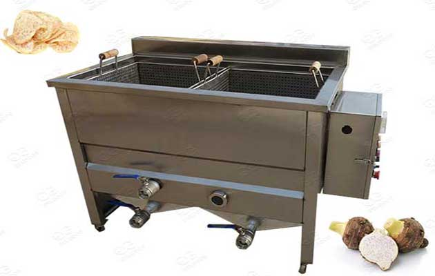 taro chips frying machine supplier