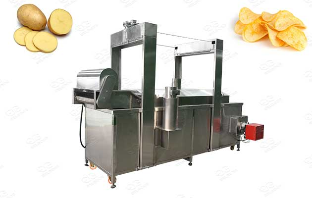 potato chips continuous frying machine