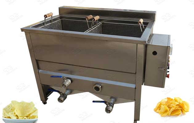 commercial durain chips frying machine