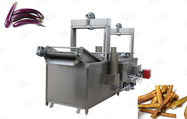 eggplant frying machine