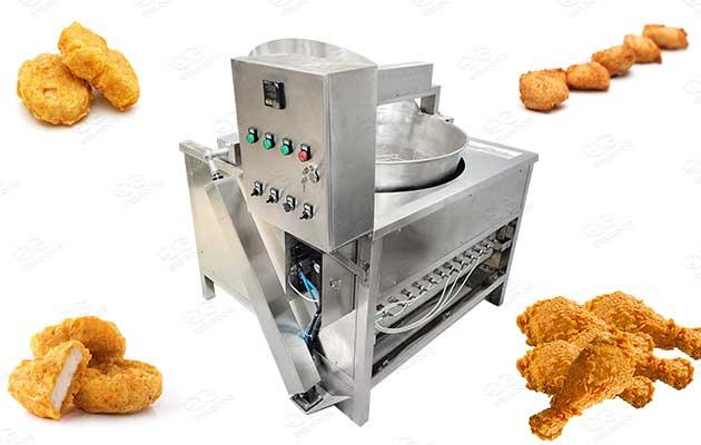 chicken deep fryer machine