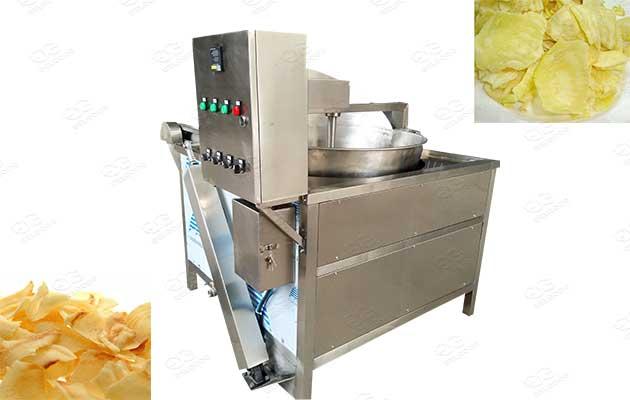 fried durain chips fryer machine