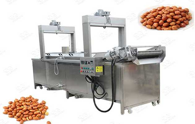 peanut frying machine automatic