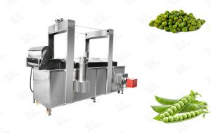 Commercial Green Peas Fryer Machine
