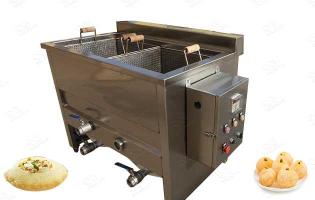 pani puri frying line machines