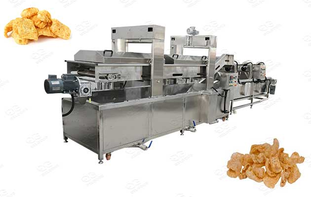 pork rinds fryer machine for sale