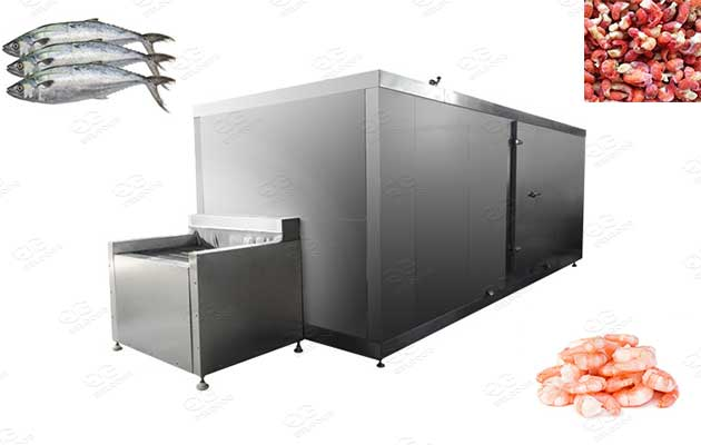 seafood tunnel freezer for sale