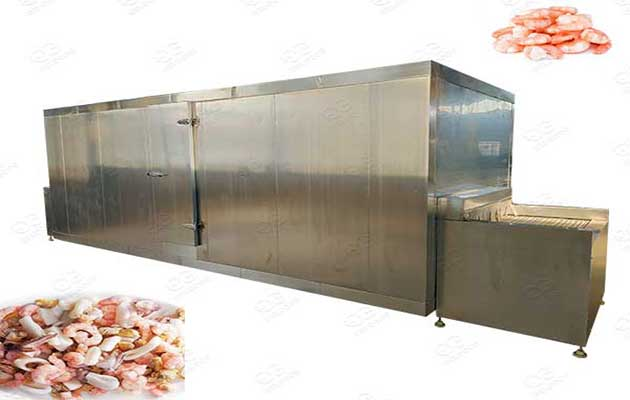 seafood quick freezer machine