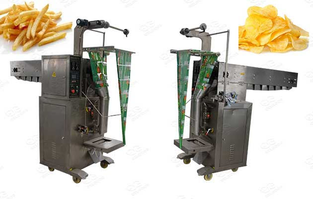 potato chips and french fries packaging machines
